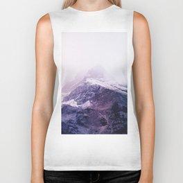 Lavender mountains Biker Tank