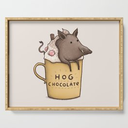 Hog Chocolate Serving Tray