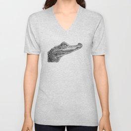 Baby Crocodile Unisex V-Neck