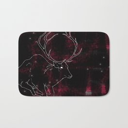 Stag in the Dusk Bath Mat