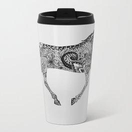 Paisley Pace Metal Travel Mug