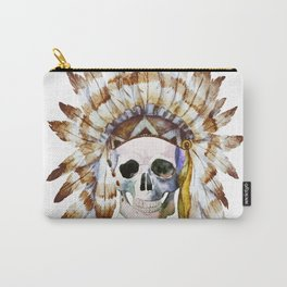 Skull 01 Carry-All Pouch