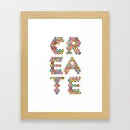 Colored Pencils Framed Art Print
