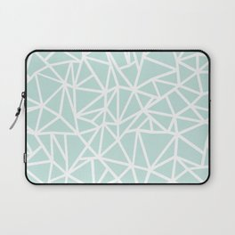 Ab Outline Thick Mint Laptop Sleeve