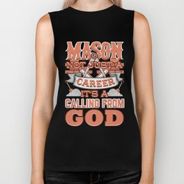 Mason Not Just A Career Calling From God Biker Tank
