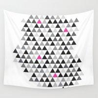 geo Wall Tapestries featuring geo by Amanda Nicole
