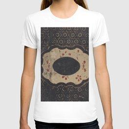 Vintage Japanese lacquer box pattern T-shirt