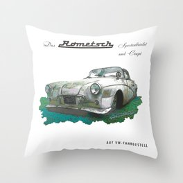Rometsch Throw Pillow