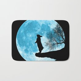 Moon Bunny Bath Mat