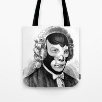 wrestling Tote Bags featuring WRESTLING MASK 4 by DIVIDUS DESIGN STUDIO