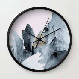 Vegetable plant abstract Wall Clock