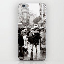 La Vie Parissiene iPhone Skin