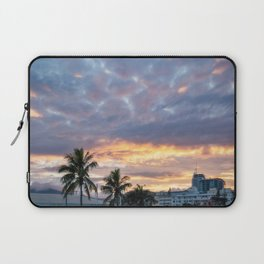Beautiful Sunrise View in New Caledonia Laptop Sleeve
