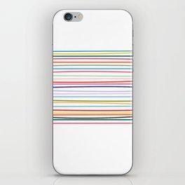 Carnival Stripe iPhone Skin