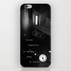 To Travel Hopefully iPhone & iPod Skin