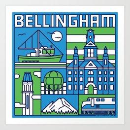 Bellingham, Washington Art Print