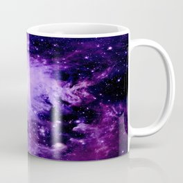 Orion nebUla. : Purple Galaxy Coffee Mug