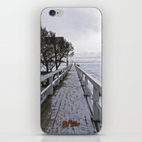 finland iPhone & iPod Skins featuring Frozen Finland by Chema G. Baena Art