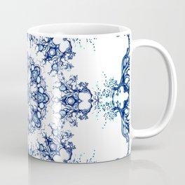 blue garden mandala Coffee Mug