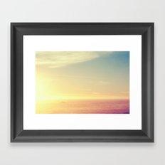 Still Illumination Framed Art Print
