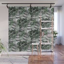 Vertical garden of fractal wall plants Wall Mural