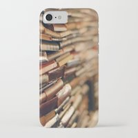 library iPhone & iPod Cases featuring library by Kristina Strasunske
