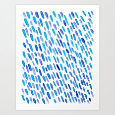 Drops of Love Art Print