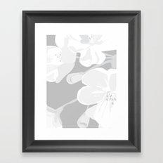 Blossoms: Three Framed Art Print