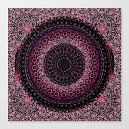 Rosewater Tapestry Mandala Canvas Print