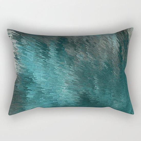 Cubes and lights Rectangular Pillow