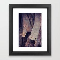 Rust 5 Framed Art Print