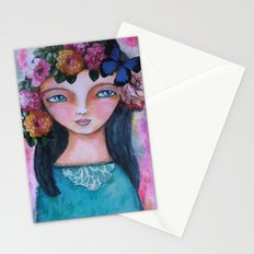 Today I am a flower! Stationery Cards