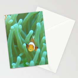 Clownfish (with a parasite that has replaced its tongue) Stationery Cards