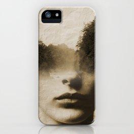 La dama del lago iPhone Case