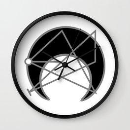 Dark Moon Sigil Logo Wall Clock