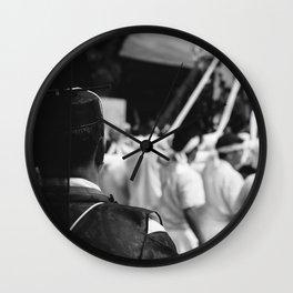 Kannushi Overseer Wall Clock