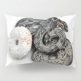 Jade Black And White Pillow Sham