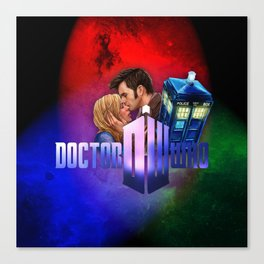 Dr.Who memories Canvas Print