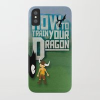 how to train your dragon iPhone & iPod Cases featuring HOW TO TRAIN YOUR DRAGON - Fantasy | Animation | Movie | Fantastic | Childer | Sci-fi by Gianluca Lucchese