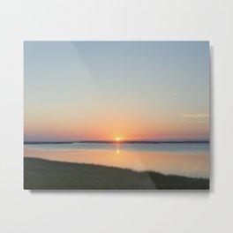 Georgia Sunrise Metal Print