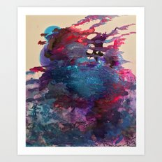 Hallucinogenic Moments Art Print
