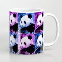pandas Mugs featuring Pandas by SwanniePhotoArt