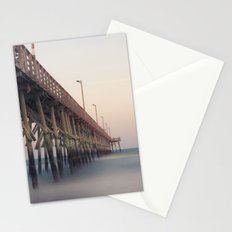 Pier at Dusk Stationery Cards