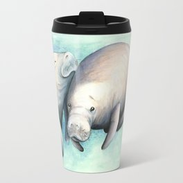 Manatee Love Travel Mug