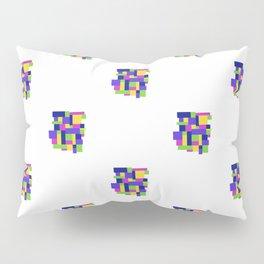 Pattern Happy colors quadrille Pillow Sham