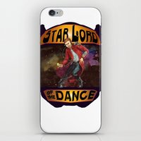 starlord iPhone & iPod Skins featuring (Star) Lord of the Dance by Fiendish Thingy Art