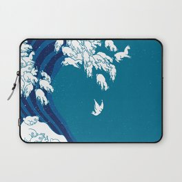 Waves Llama Laptop Sleeve