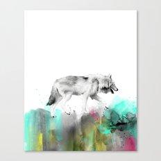 Wild No. 3 // Wolf Canvas Print