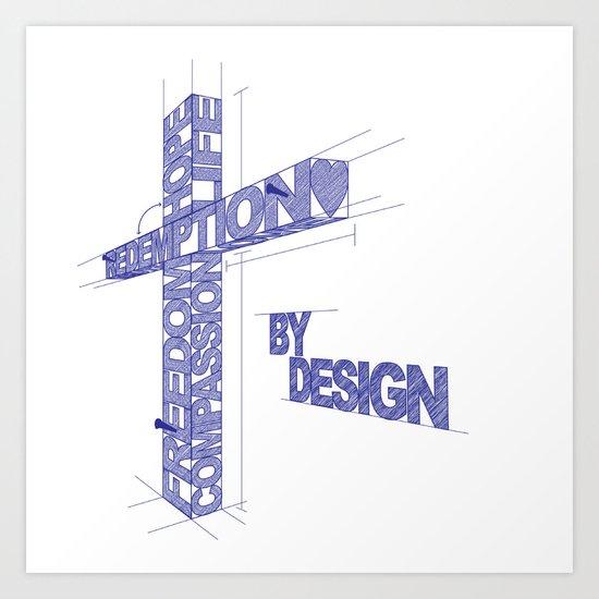 By Design Art Print