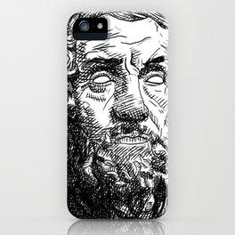 Homer Poet iPhone Case